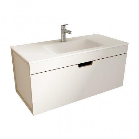 muebles de bano ML100 blanco-visón