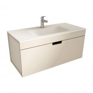 muebles de bano ML100 visón-blanco