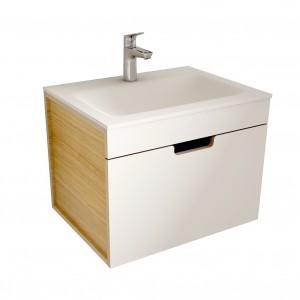 muebles de bano ML60 blanco-madera
