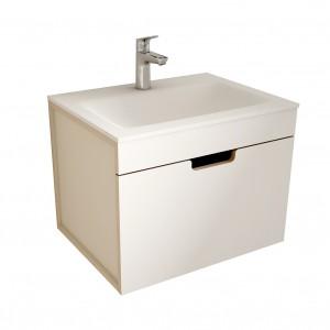 muebles de bano ML60 blanco-visón