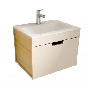muebles de bano ML60 visón-madera