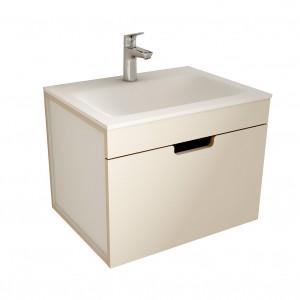 muebles de bano ML60 visón-blanco