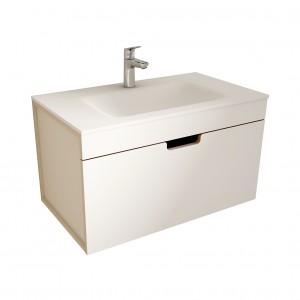 muebles de bano ML80 blanco-visón