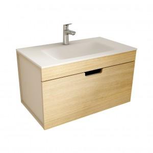 muebles de bano ML80 madera-visón