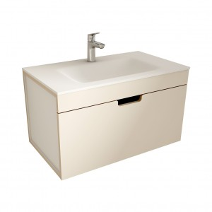 muebles de bano ML80 visón-blanco