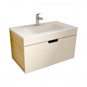 muebles de bano ML80 visón-madera