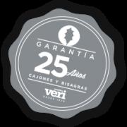 sello garantia 25 anos muebles de cocina y bano